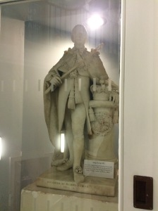 George III - wartime leader; patron of the arts; sion of a successful immigrant family.